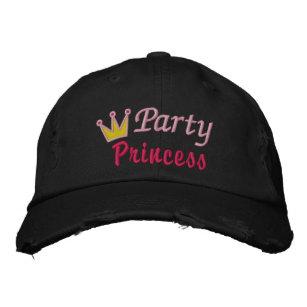 Boné Bordado Design bonito da princesa Coroa Rainha Cor-de-rosa f687428d0cd