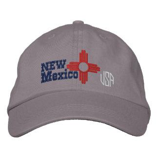 Boné Bordado Design da bandeira do estado de New mexico