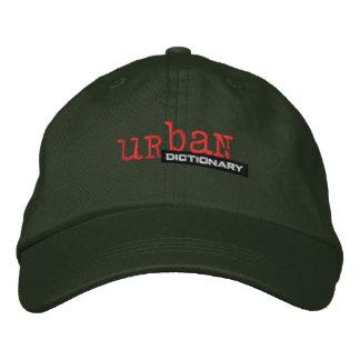 Boné Bordado Dicionário urbano feito sob encomenda chapéu