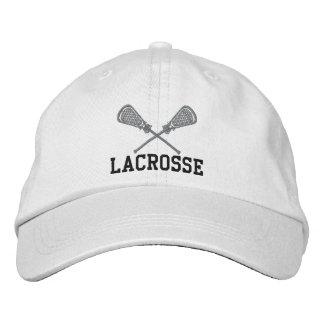 Boné bordado do Lacrosse