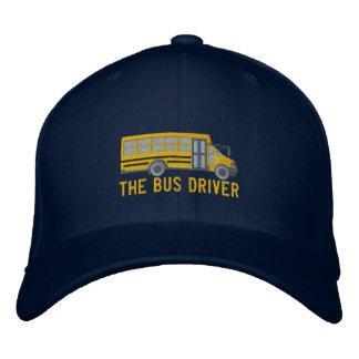 Boné Bordado do ônibus da escola feita sob encomenda do