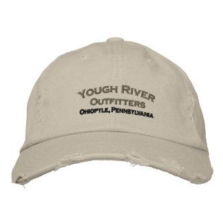 Boné bordado do rio de Yough