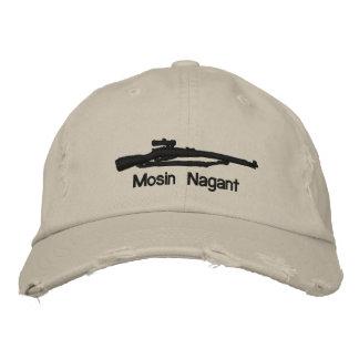 Boné Bordado Emb. Estrela ajustável do chapéu W/Soviet de Mosin