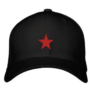 Boné Bordado Estrela vermelha