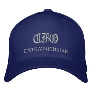 Boné bordado Extraordinaire de CFO