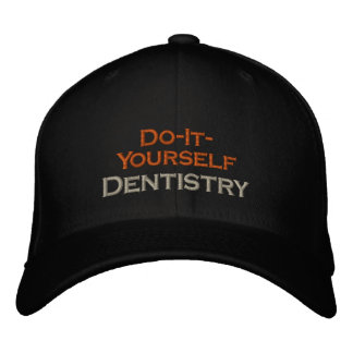 Boné Bordado Fazer--Você mesmo odontologia