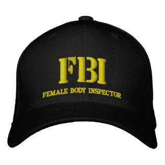 BONÉ BORDADO FBI