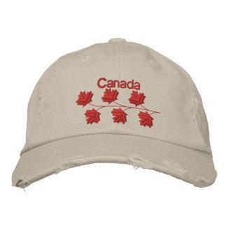 Boné Bordado Folha de bordo Canadá