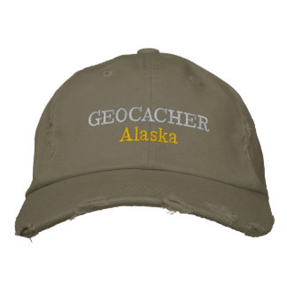 Boné Bordado Geocacher Alaska