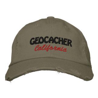 Boné Bordado Geocacher Califórnia