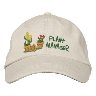 Boné Bordado Gerente de planta