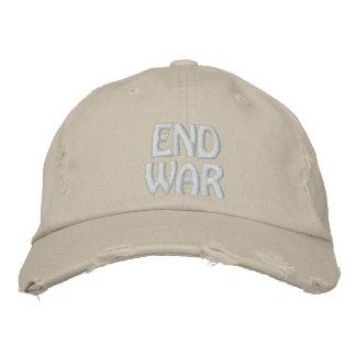 Boné Bordado Guerra do fim