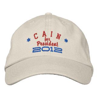 Boné Bordado Herman Cain para o presidente 2012
