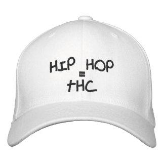 BONÉ BORDADO HIP HOP, =, THC