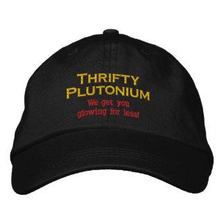 Boné Bordado Humor atômico do chapéu nuclear engraçado do