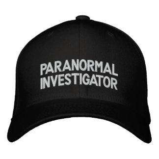 Boné Bordado Investigador Paranormal