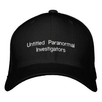 Boné Bordado Investigador Paranormal intitulados
