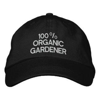 Boné Bordado Jardineiro orgânico de 100%