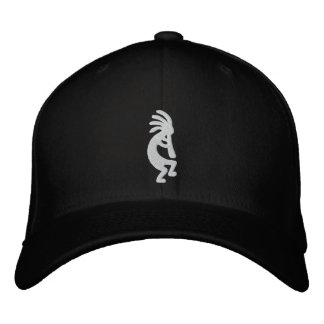 Boné Bordado Kokopelli bordou o chapéu