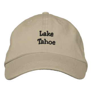 Boné Bordado Lake Tahoe personalizou o chapéu ajustável