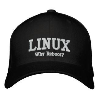 Boné Bordado Linux, por que recarrega?