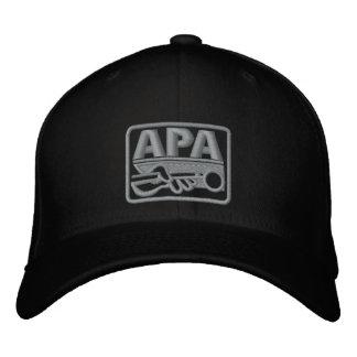 Boné Bordado Logotipo de APA - cinza