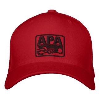 Boné Bordado Logotipo de APA - preto