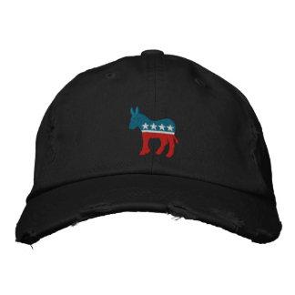 Boné Bordado Logotipo de Democrata