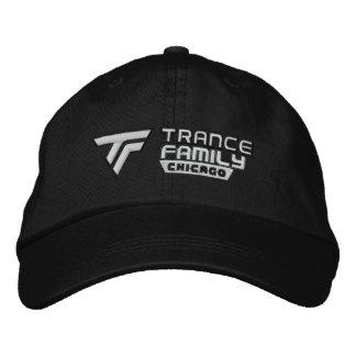 Boné Bordado Logotipo do oficial do chapéu negro da família do