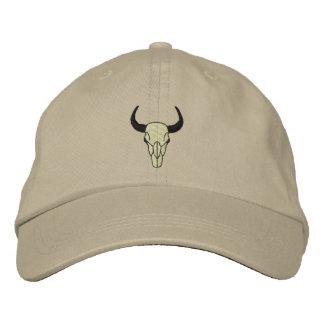 Boné Bordado Longhorn feito sob encomenda bordou o chapéu