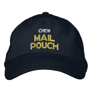 Boné Bordado Malote de correio da mastigação