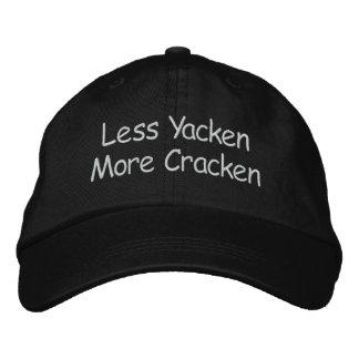 Boné Bordado Menos Yacken mais Cracken