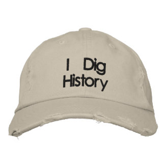 Boné Bordado Metal bordado que detecta eu escavo o chapéu da