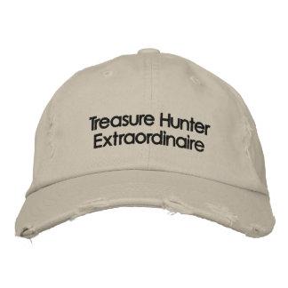 Boné Bordado Metal bordado que detecta o chapéu