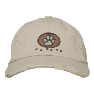 Boné Bordado Meu cão balança o bordado no chapéu