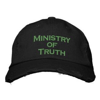 Boné Bordado Ministério da verdade