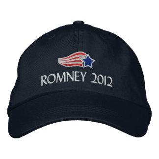 Boné Bordado Mitt Romney 2012 listras da estrela bordou o