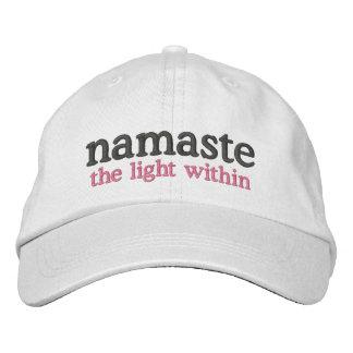 Boné Bordado Namaste a luz dentro