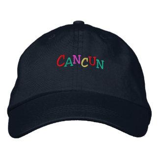 Boné Bordado Namedrop Nation_Cancun multi-colorido