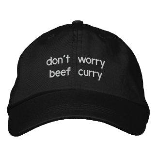 Boné Bordado não preocupe o caril da carne