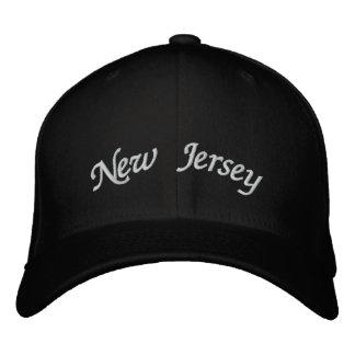 Boné Bordado New-jersey bordou o chapéu