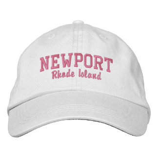 Boné Bordado Newport, Rhode - ilha