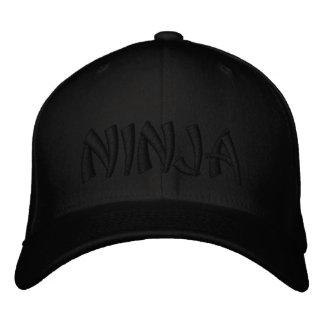Boné Bordado Ninja