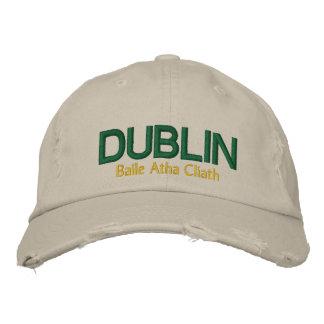 Boné Bordado O chapéu de Dublin