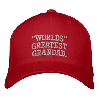 Boné Bordado O grande Grandad dos mundos