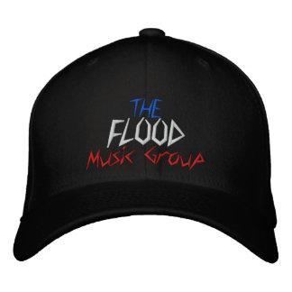 Boné Bordado O grupo da música da inundação - personalizado -