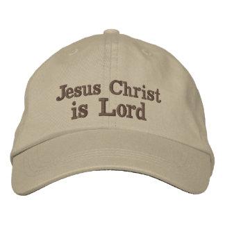 Boné Bordado O Jesus Cristo é senhor