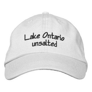 Boné Bordado O Lago Ontário - unsalted