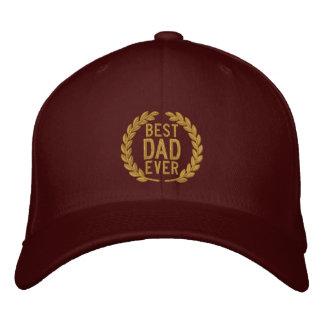Boné Bordado O melhor bordado de All Star SuperDad do pai nunca