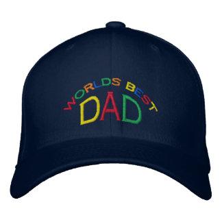 Boné Bordado O melhor pai do mundo